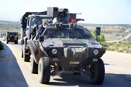 Эрдоган связал стерактом подрыв машины вРейханлы