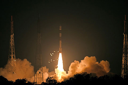 Индия догнала в космосе США, Китай и Японию