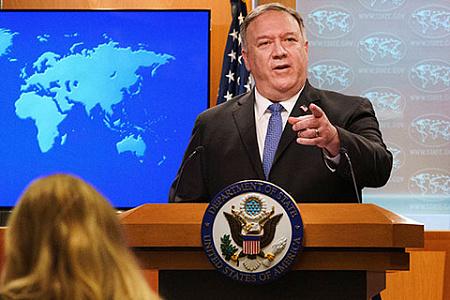 госдеп, помпео, внешняя политика, ближний восток, антииранские санкции. израиль, арабские страны, байден