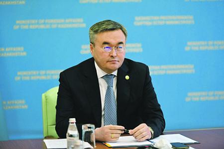 казахстантан, ьюркский совет, турция, внешняя политика, центральная азия, каспий