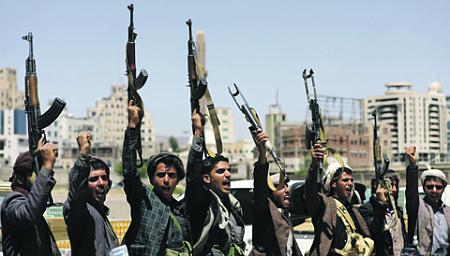 саудовская коалиция, хуситы, йемен