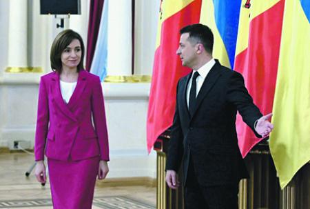 украина, зеленский, молдавия, санду, приднестровьье, конфликт, миротворцы