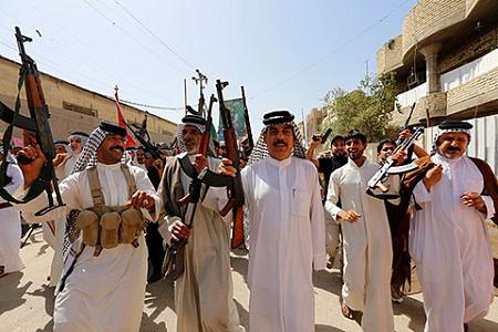 ирак, шиитские формирования, иранское влияние