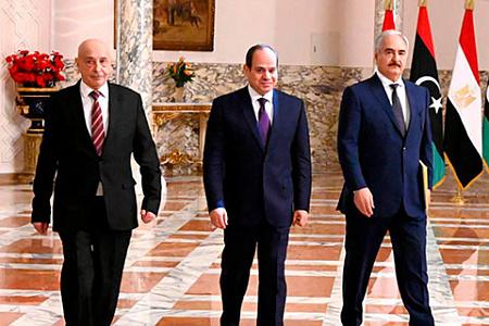 ливия, гражданская война, раздел, хафтар, салех, переговоры, египет