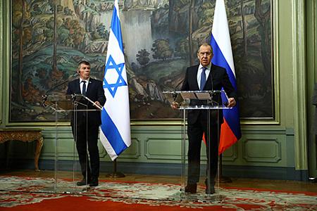 рф, израиль, мид, лавров, ашкенази, сирийское досье, иранский вопрос, обстрелы