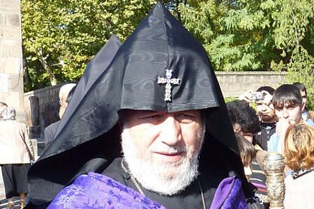 армения, католикос гарегин второй, священники, протесты