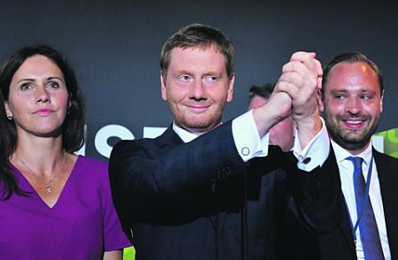 «Альтернатива для Германии» прокомментировала результаты  выборов вСаксонии иБранденбурге