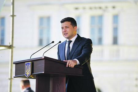 украина, зеленский, послание, опрос, местные выборы