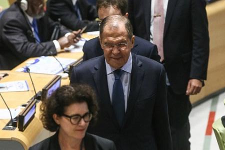 Лавров предостерег Запад отновых ударов поСирии