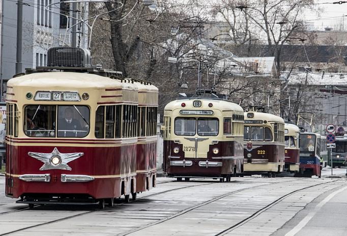 Московский трамвай отметил 120-летний юбилей