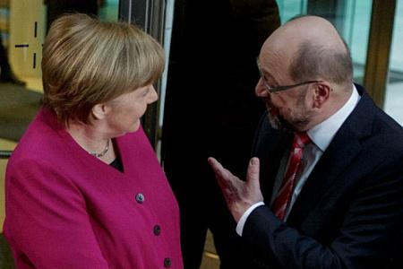 Меркель прокомментировала прорыв всоздании большой коалиции