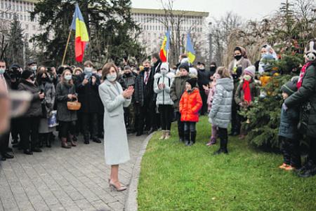 молдавия, санду, политический кризис, кс, парламент