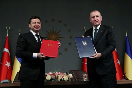 украина, зеленский, турция, эрдоган, вооружения, сотрудничество