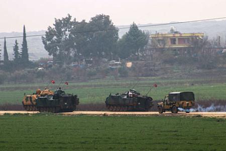 Эрдоган заявил опродвижении военной операции вглубь Сирии