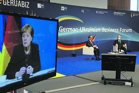 германия, украина, энергетическое сотрудничество, северный поток 2