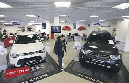 Продажи на русском рынке автомобилей увеличились практически на13%