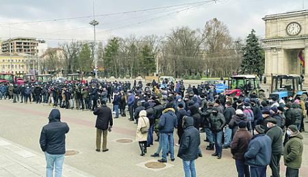 молдавия, президент, майя санду, правителство, парламент, игорь додон, фермеры, протест, экономика, кризис
