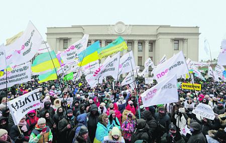украина, кабмин, оппозиция, порошенко, тимошенко, протест, карантин, пандемия, коронавирус, здравоохранение