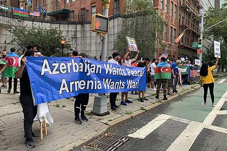 армения, азербайджан, карабахский конфликт, заруюежные акции, этноконфликты